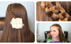 Polished Upbraid Hairstyles