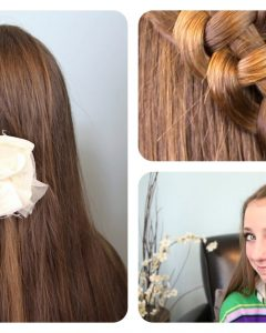 Polished Upbraid Hairstyles