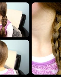 Ladder Braid Side Ponytail Hairstyles