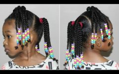Braided Hairstyles with Beads
