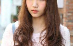 Cute Korean Hairstyles for Girls with Long Hair