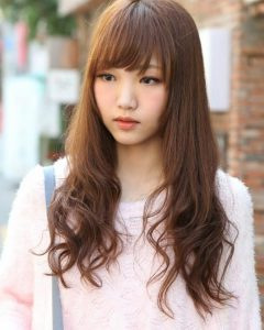 Cute Korean Hairstyles For Long Hair