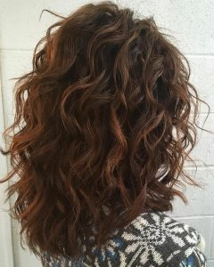 Long Layered Waves Hairstyles