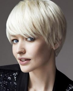 Ladies Short Hairstyles With Fringe