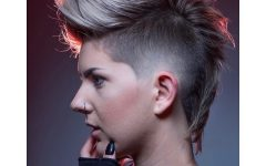 Funky Pink Mohawk Hairstyles