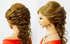 Romantic Bridal Hairstyles for Medium Length Hair