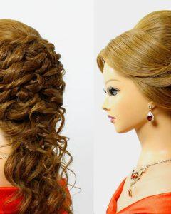 Romantic Bridal Hairstyles For Medium Length Hair