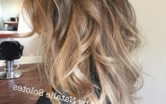 Tortoiseshell Curls Blonde Hairstyles
