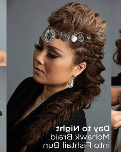 Cool Mohawk Updo Hairstyles