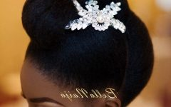 Wedding Hairstyles For Natural Afro Hair