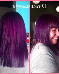 Purple Haze Hairstyles