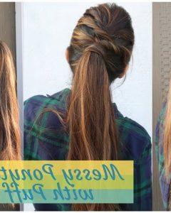 Messy Ponytail Hairstyles