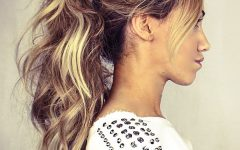 Intricate and Messy Ponytail Hairstyles
