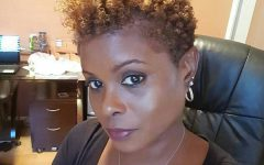 Curly Black Tapered Pixie Hairstyles