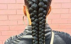 Big Braid Mohawk Hairstyles