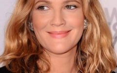 Drew Barrymore Shoulder Length Bob Hairstyles