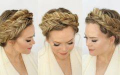 Fishtail Crown Braid Hairstyles