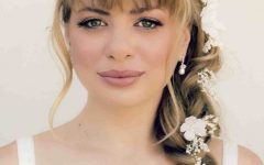 Wedding Hairstyles for Mid Length Hair with Fringe