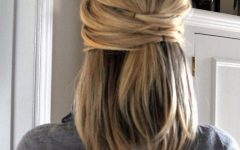 Elegant Wedding Hairstyles for Shoulder Length Hair