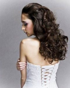 Wedding Hairstyles For Long Thick Curly Hair