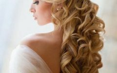 Long Hair Down Wedding Hairstyles