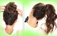 Updo Hairstyles for School