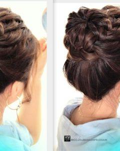 Bun Braided Hairstyles