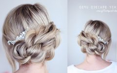 Regal Braided Up-do Hairstyles