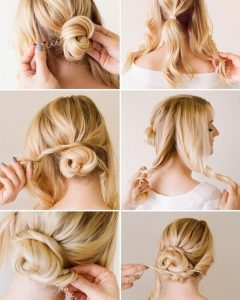Chic Updos For Long Hair