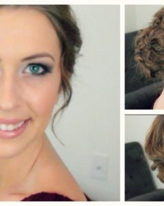 Easy Updos For Wavy Hair