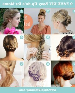 Easy Diy Updos For Long Hair