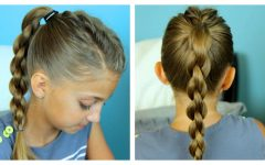 Three Braids to One Ponytail Hairstyles
