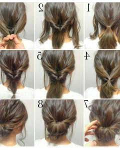 Quick Updo Hairstyles