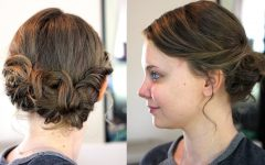 Easy Updo Hairstyles for Shoulder Length Hair