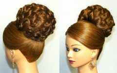 Fancy Updo Hairstyles for Long Hair