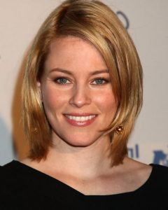 Elizabeth Banks Shoulder Length Bob Hairstyles