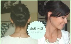 Updos for Fine Short Hair