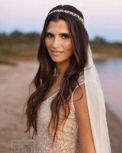 Wedding Hairstyles For Down Straight Hair