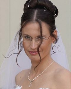 Wedding Hairstyles With Glasses