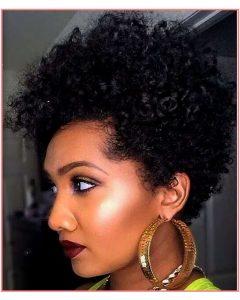 Black Women Natural Medium Haircuts