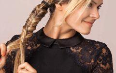 Boho Fishtail Braid Hairstyles