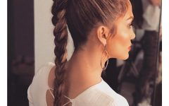 Crimped Pony Look Ponytail Hairstyles