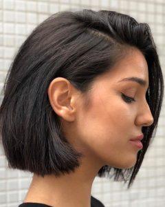 Ear Length French Bob Hairstyles