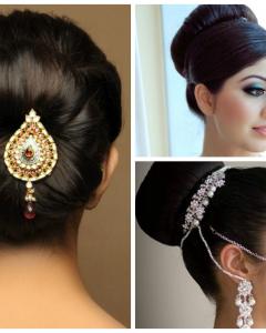 Indian Wedding Hairstyles For Medium Length Hair
