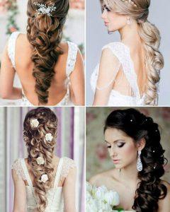 Long Hair Up Wedding Hairstyles