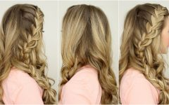 Loose Side French Braid Hairstyles