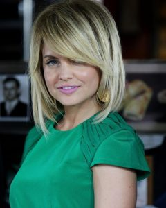 Mena Suvari Shoulder Length Bob Hairstyles