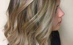 Ombre-ed Blonde Lob Hairstyles