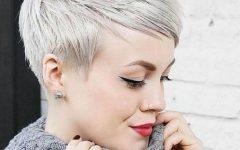 Platinum Pixie Haircuts