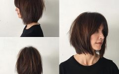 Shaggy Bob Hairstyles with Curtain Bangs